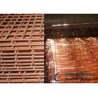 Wholesale Copper Coated Welded Wire Mesh, Brass or Copper Plating Surface from china suppliers