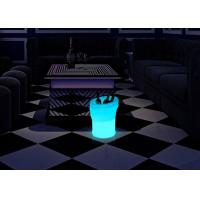 Buy cheap Rechargeable 5 Liter Light Up Plastic LED Ice Bucket Guaranteed Quality from wholesalers