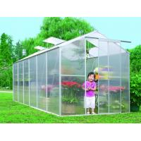 Wholesale Waterproof UV Polycarbonate Sheet Compact Walk In Greenhouse For Backyard / Garden Vegetable from china suppliers