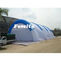 Wholesale Material 0.55mm pvc Tarpaulin Size 30x20x9m Inflatable Sport Tent Paintball Tent from china suppliers