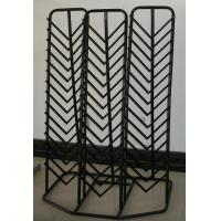 Wholesale Custom Durable Retail Tile Display Racks Stands , Metal Staggered from china suppliers