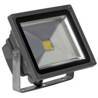 China IP65 LED Flood Light 30 Watt , COB LED Floodllight EPISTAR Black Stainless on sale