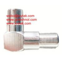 Wholesale Coaxial Adapter Coaxial Adaptor PAL Male To F Female TV cable connector / FF.PALM.05L from china suppliers
