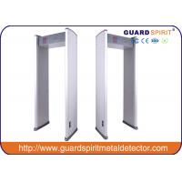 Wholesale 6 Zone Portable Metal Detector Gate , High Sensitivity Metal Detector Door Frame for sale from china suppliers