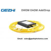 Wholesale 4 Channels DWDM Dual Fiber OADM East-Or-West Box Module LC/UPC from china suppliers
