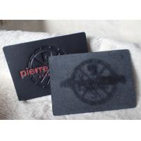 Wholesale Classic Durable Embossed Leather Patches , Fake / Genuine Leather Label from china suppliers