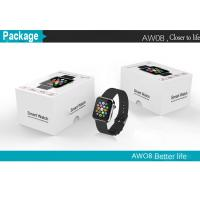 Wholesale bluetooth smart watch AW08 with pedometer anti-lost sleep monitoring from china suppliers
