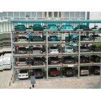 Wholesale 2-6 Layers Mechanical Puzzle Car Parking System EquipmentRotating Parking System Solutions from china suppliers