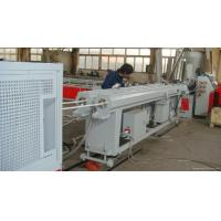 Wholesale Accurate 16 - 63mm PVC Double Pipe Extrusion Machine With Chrome - Plating from china suppliers