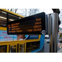 Wholesale Low Thermal Waterproof Bus Destination Sign , Variable Message Display Long Life Span from china suppliers