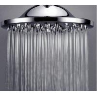 Wholesale ABS Overhead Shower Head Water Saving High Brightness Color Change Automatically from china suppliers