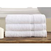 Wholesale Professional Hotel Bath Towels / Personalized Bath Towels Set With Super Absorbency from china suppliers