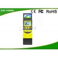 Wholesale Railway Station Bill Payment Dual Screen Kiosk All In One Easy Operation from china suppliers