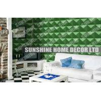 Wholesale 3D Decorative Plastic Textured Wall Panels Modular For Home Decor from china suppliers