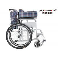 Wholesale Steel Big Wheels Self Propelled Wheelchair , Lightweight Aluminum Wheelchair from china suppliers
