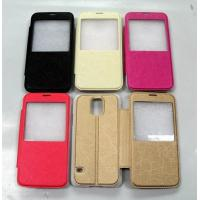 Wholesale New Designs View Windows Flip Leather Case For Samsung S5/I9600 from china suppliers