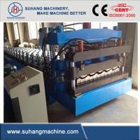 Wholesale 8000Kgs High Precision Glazed Steel Tile Roll Forming Equipment with PLC Control from china suppliers