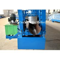 Quality Steel Rain Gutter Cold Aluminum Metal Roofing Sheet Roll Forming Machine ISO for sale