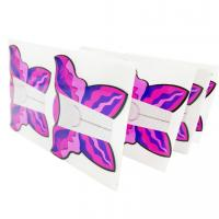 Wholesale Best Quality butterfly shape french nail art tips extension guide paper 50pcs/bag