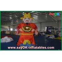 Wholesale Giant 5M Red Decorative Inflatable Cartoon Characters For Chinese New Year Celebration from china suppliers