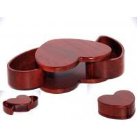 Wholesale Rosewood heart shape wood box from china suppliers
