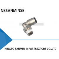 Wholesale PLP All Brass Body Pneumatic Air Fittings With Plastic Sleeve Push - In Fittings from china suppliers