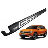 Wholesale Stainless Steel Vehicle Running Boards For Volkswagen Tiguan 2017 Long Wheelbase Allspace from china suppliers