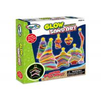 Quality Educational DIY Glow Sand Arts And Crafts Toys / Children Learning Kits W / Bottles for sale