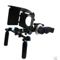 Wholesale DSLR Rig Set Movie Kit withshoulder mount rig Matte Box And follow focus from china suppliers