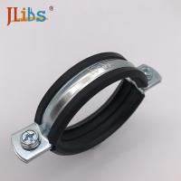 Wholesale Zinc Color Plated Steel Pipe Clamps Cast Iron Heavy Duty Pipe Clamps from china suppliers