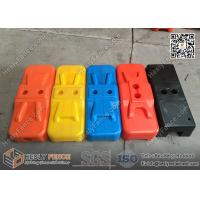 Buy cheap Temporary Fencing HDPE Feet with UV treated | Blow Mould & Injection Mould plastic Base from wholesalers