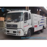 Buy cheap 4x2 Drive Donfeng Road Cleaner Sanitation Truck 8000L For Dust Suction from wholesalers
