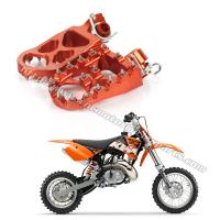 Wholesale High Strength Dirt Bike Foot Pegs KTM 125 – 450cc Adventure Adjustable Footpegs from china suppliers