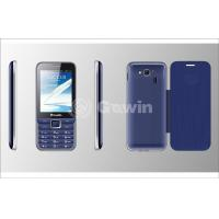 Wholesale Blue Pixel Mobile Phone , Four frequency Slim bar mobile from china suppliers