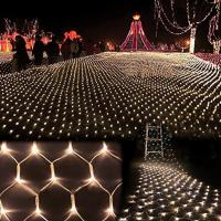 Wholesale 3m*2m 200 LED Net Mesh Fairy String Light Christmas Wedding Party Fairy String Light from china suppliers