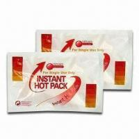Instant Hot Pack, Made of PE and Nylon