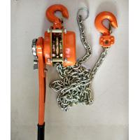 Buy cheap Capacity 6 Ton Basic Construction Tools Lever Hoist Lifting Height 1.5m Chain Dia 10mm from wholesalers