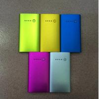 Wholesale Fast Charging 3600 mAh Metal Power Bank 18650 , Mobile Power Backup from china suppliers