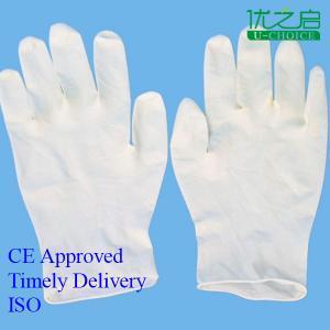 China Surgical / Sterile Nitrile Gloves , Hospital Neoprene Surgical Gloves on sale