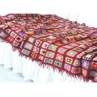 Wholesale Tassels Forest Thread Lightweight Crochet Baby Blanket Handmade With Flowers from china suppliers
