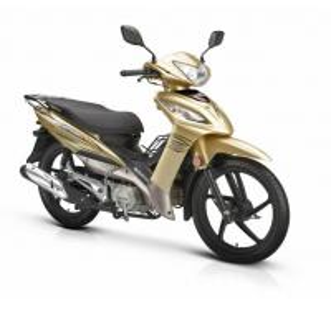 Front Turning Light Gas Powered Motorcycle Big Size Disc / Drum Braking 110CC Engine