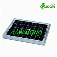 Buy cheap 10Wp Monocrystalline Solar Panels With IEC61730 / IEC61215 Certificate from wholesalers