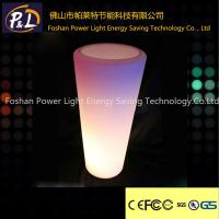 Wholesale Outdoor Furniture Decorative Lighting Vase Plastic LED Flower Vase from china suppliers