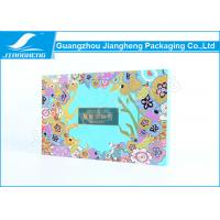 Quality Rigid Cardboard CMYK Printing Rectangular Gift Box For Tea Packaging / Storage for sale