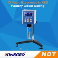 Wholesale Big Screen High Temperature Viscometer With LCD Backlight KJ-LVDV-1 from china suppliers