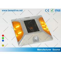 Wholesale Aluminum Solar Powered LED Raised Pavement Marker 10 Tons Resistance from china suppliers
