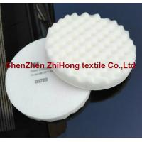 Wholesale Eco-friendly 3M Soft foam compounding hook and loop pad for body face cleaning from china suppliers
