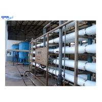 Wholesale Reverse Osmosis Filters Industrial Water Treatment Plant FRP / Stainless Steel Housing from china suppliers