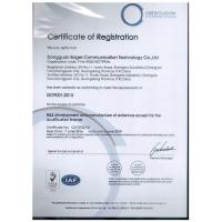 Dongguan Boges Communication Technology Co., Ltd Certifications