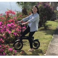 Wholesale 150KG Loading Capacity Folding Electric Bike LED Lights With 12inch Wheel from china suppliers
